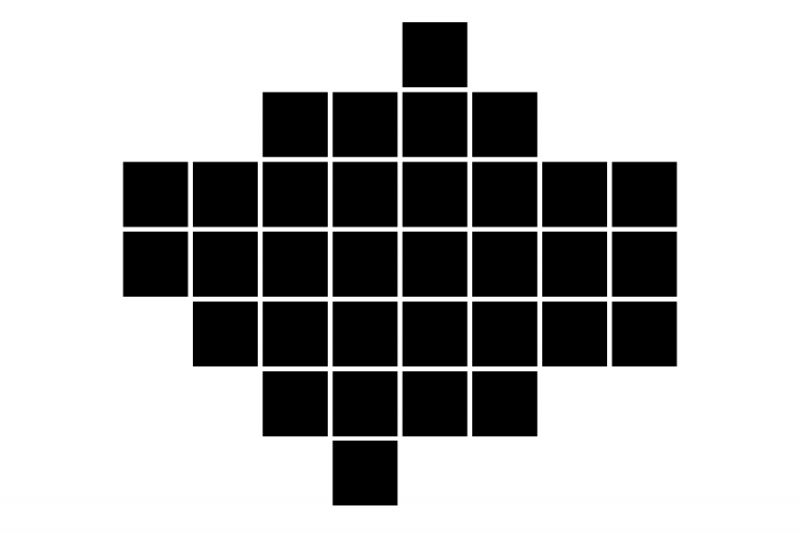a simple abstraction of london boroughs into squares
